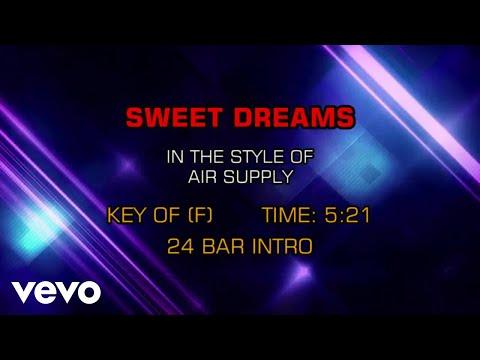Air Supply - Sweet Dreams (Karaoke)
