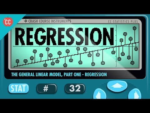 Regression: Crash Course Statistics #32