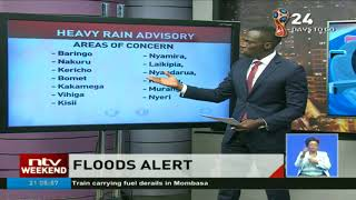 'Expect heavy rains in the next 2 days in 22 counties' , weatherman warns
