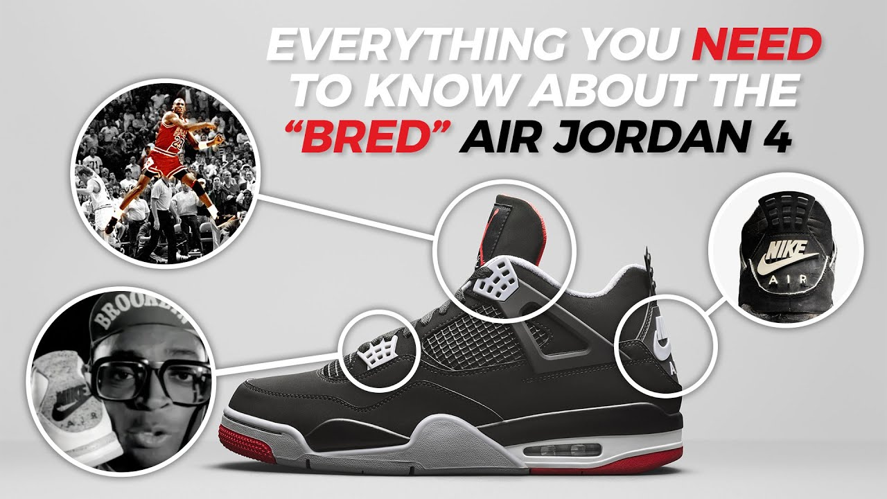 812dc464b83 Why the Air Jordan 4 Black Red is So Important    Video
