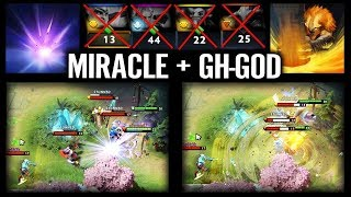 Gambar cover Miracle + GH-GOD = EZ 25 MMR | Best Liquid combination Dota 2