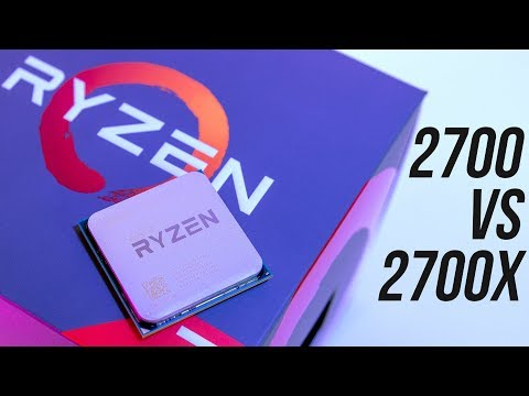 AMD Ryzen 7 2700 vs 2700X – CPU Benchmark Comparison