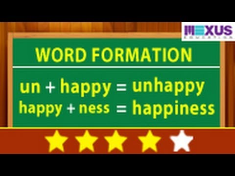 mp4 English Exercise Word Formation, download English Exercise Word Formation video klip English Exercise Word Formation