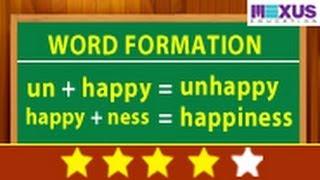 Learn about Word Formation | English Grammar | iken | ikenedu | ikenApp