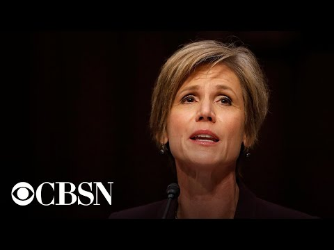 Watch live: Sally Yates testifies before lawmakers on Russia's 2016 election interference