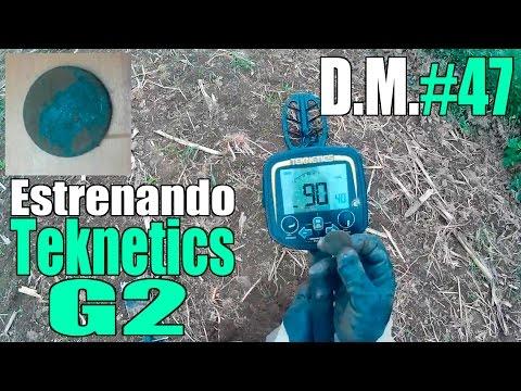 Estrenando detector de metales Teknetics G2 - Detección Metálica ep. 47