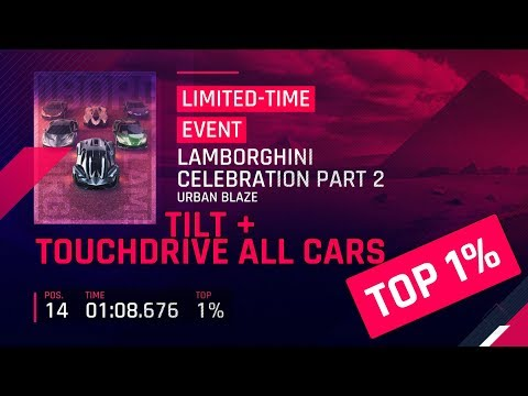 Top 1% Lamborghini Celebration Part 2 Tilt & Touchdrive