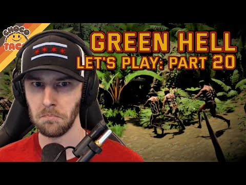 LET'S PLAY: Green Hell Part 20 - chocoTaco and Reid Green Hell Survival Gameplay