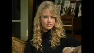 Taylor Swift CMT Insider Special Edition Thanksgiving 2008 (part 1/2)
