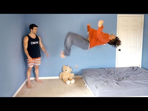 Download Teaching Billy to Backflip - Landed Under 5 Minutes! HD Mp4 3GP Video and MP3