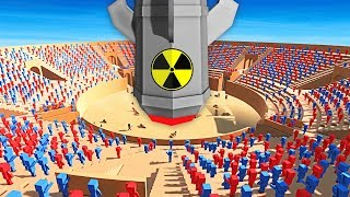 NUKE BOMB vs 10000 ZOMBIE ARENA IN ANCIENT WARFARE 3 (Ancient Warfare 3 Funny Gameplay)