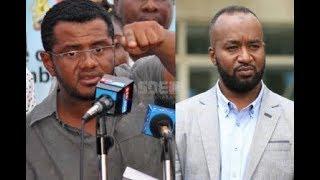 Former Mombasa Senator Hassan Omar files petition challenging Governor Joho's win