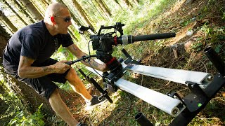 Proaim Cosmo 8ft Video Camera Slider Dolly- Smooth, Affordable, 200kg/441lb Payload | Test Shots