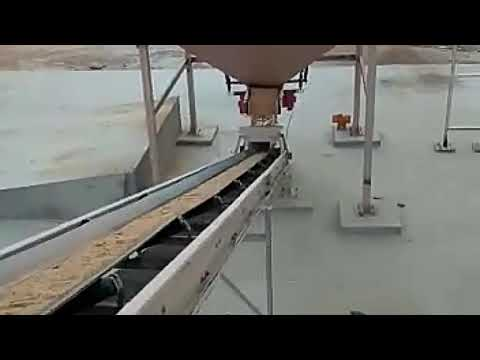 Bucket Wheel Sand Classifier with Washing Plant
