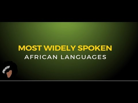 Most Widely Spoken Languages In Africa