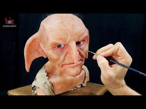 Kreacher Sculpture Timelapse - Harry Potter