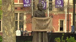 Millicent Fawcett honoured with first female statue in Parliament Square | ITV News