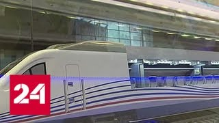 На Рижском вокзале столицы работает поезд-музей - Россия 24