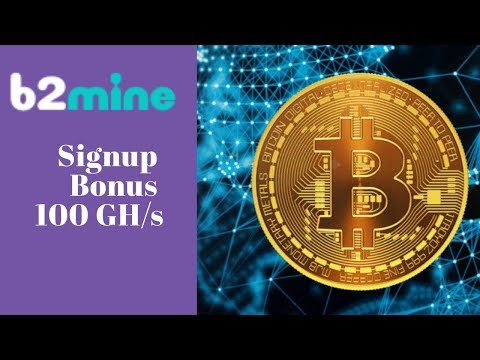 B2Mine.biz отзывы 2019, обзор, Mining Cryptocurrency, Free bonus 100 Ghs and start mining