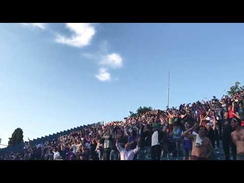 """Hinchada de Defensor vs Nacional - clausura 2017"" Barra: La Banda Marley • Club: Defensor"