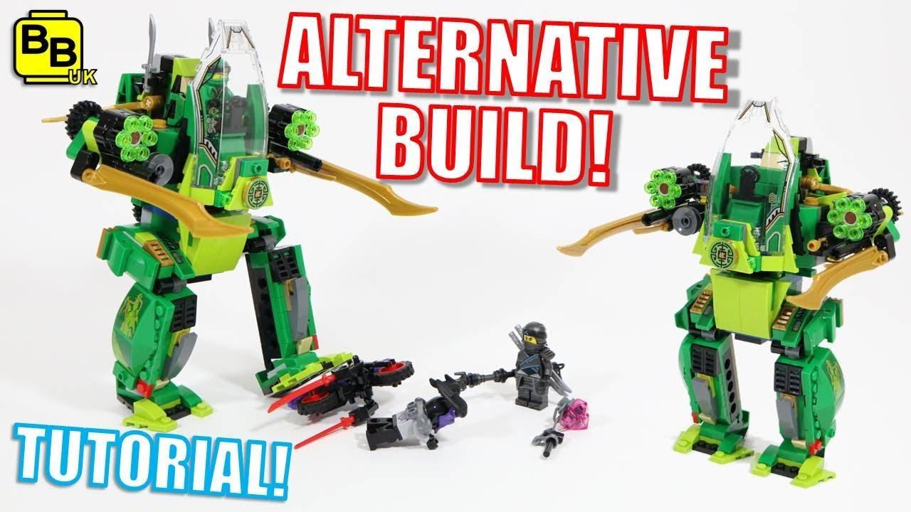 LEGO NINJAGO 70641 ALTERNATIVE BUILD LLOYD'S WALKER!