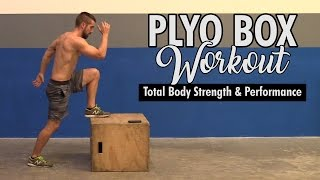 Plyo Box Workouts For Total Body Strength & Performance