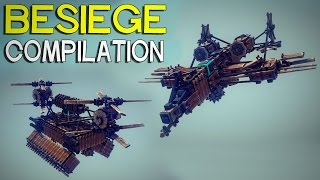 ►Besiege Compilation - Awesome Flyers