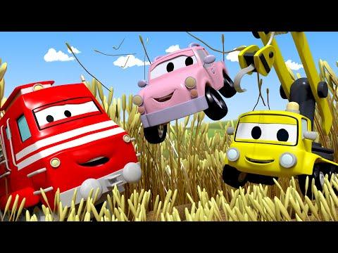 Tren Troy Araba Şehri'nde - Bebek Arabalar Saklambaç Oynuyor - Araba Şehri ???? çizgi filmler