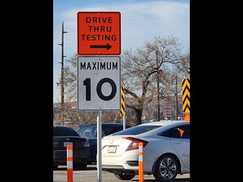 Drive Thru COVID Testing Site