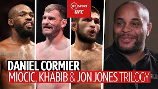 Daniel Cormier on Miocic, Retirement, Jon Jones, and his friendship with Khabib Nurmagomedov