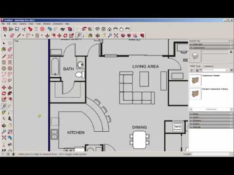 Sketchup How To Scale A Not To Scale Floor Plan Drafting Modeling And 3d Printing With Lydia Sloan Cline