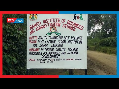 Student unrest: Bahati Institute students on strike over the exam registration
