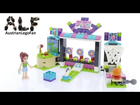 Vidéo LEGO Friends 41127 : L'arcade du parc d'attractions
