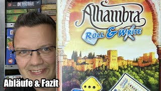 Alhambra Roll & Write (Queen Games) - ab 8 Jahre - Top Familienspiel - Top Roll & Write?
