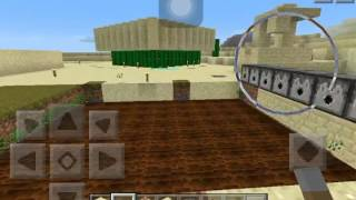 Minecraft Pe สอนสร้างเก้าอี้นั่งได้ 01500152