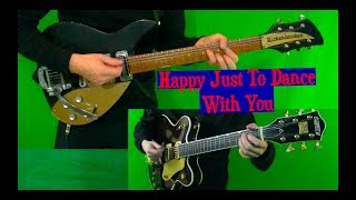 I'm Happy Just To Dance With You - Lead and Rhythm Cover - Mixed and Isolated