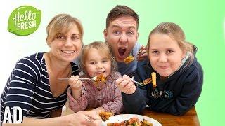 EASY FAMILY RECIPES ft HELLOFRESH #ad