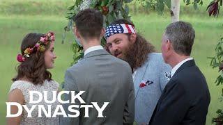 "Duck Dynasty: John Luke and Mary Kate Say ""I Do"" | A&E"