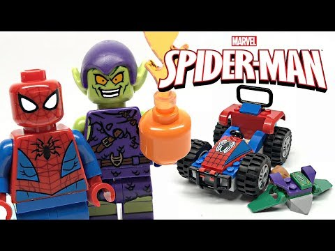 LEGO Spider-Man Car Chase Review! 2019 Set 76133!