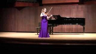 Bach Sonata No. 2 in A minor: II. Fuga