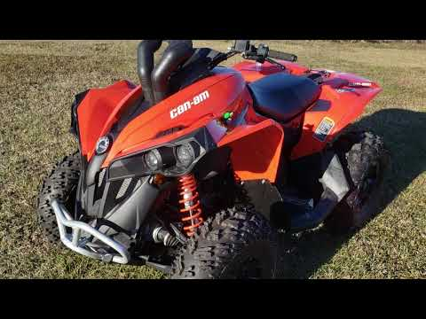 2017 Can-Am Renegade 850 in Saucier, Mississippi