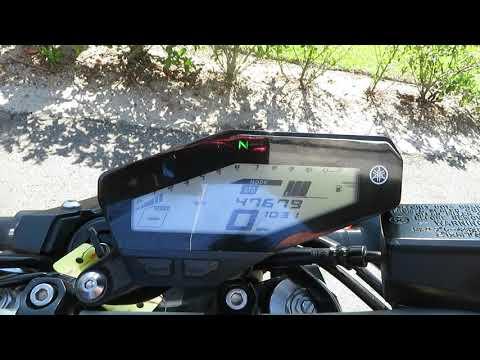 2015 Yamaha FZ-09 in Sanford, Florida - Video 1