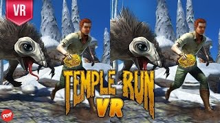 Temple Run VR - 3D SBS VR Video Gameplay - How long can you survive?