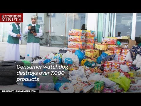 Consumer watchdog destroys over 7,000 products