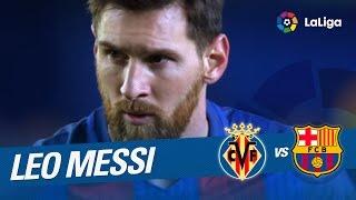 Golazo de Messi (1-1) Villarreal CF vs FC Barcelona