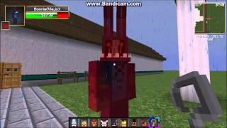 Random Minecraft Fnaf mod fun!