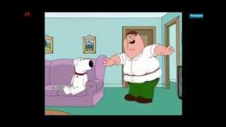 Family Guy Peter spinning hula hoop
