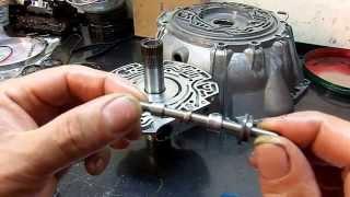 6L80-E Transmission Pump Assembly - Worn PR Valve