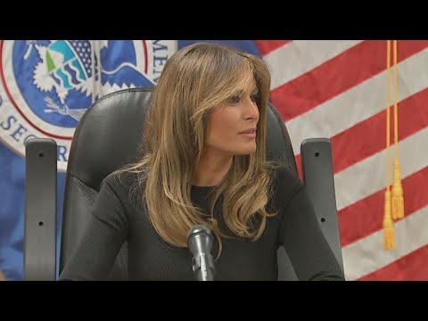 Melania Trump Returns to U.S.-Mexico Border Following Jacket Uproar