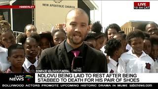 N Cape learner Boniface Ndlovu funeral underway